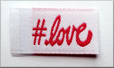 Tag It Labels #Love