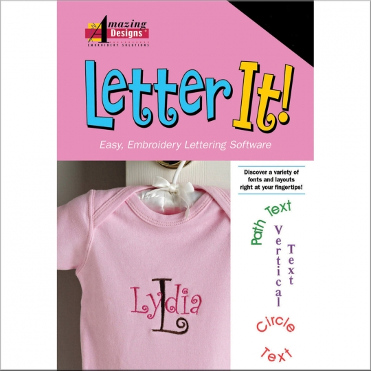 Letter It Embroidery Software Shoppers Rule